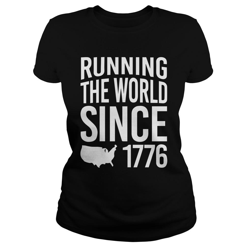 Running The World Since 1776 Tank Top