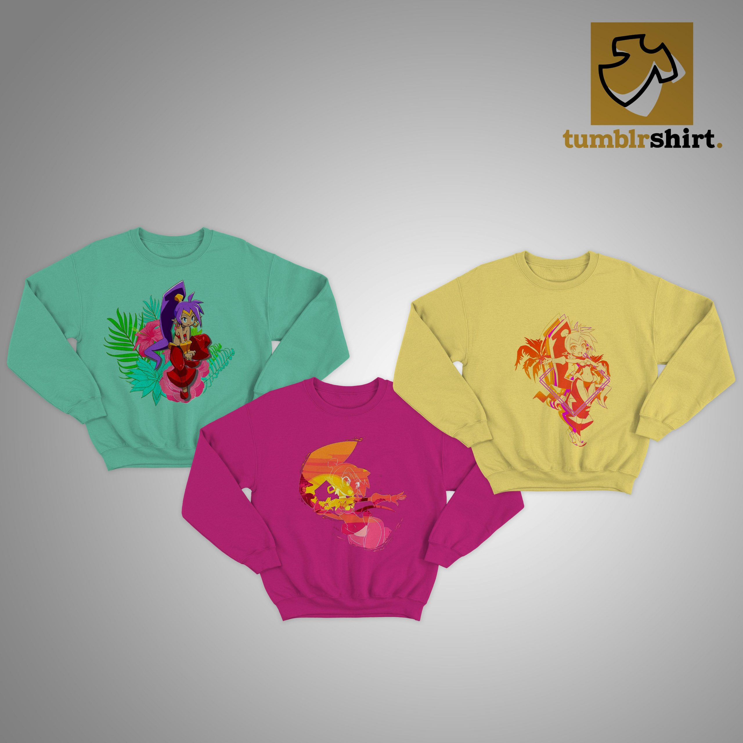 Sdcc 2020 Shantae Sweater