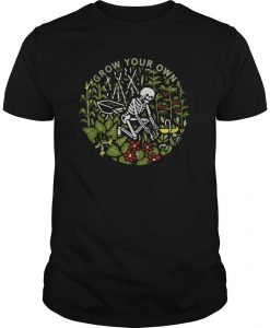 Skeleton Grow Your Own Shirt