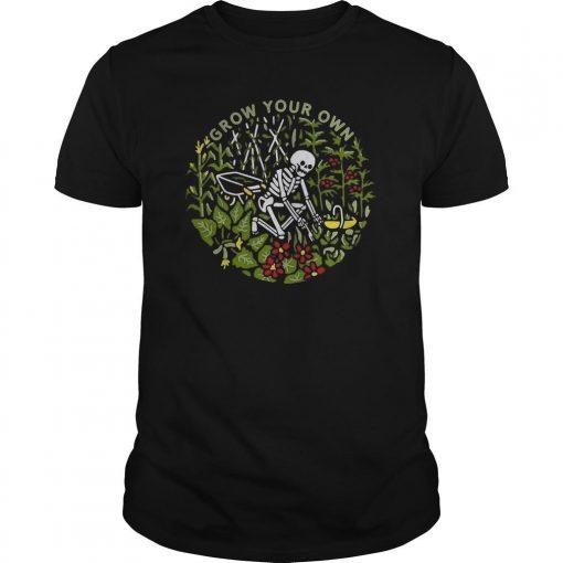 Skeleton Grow Your Own Shirt