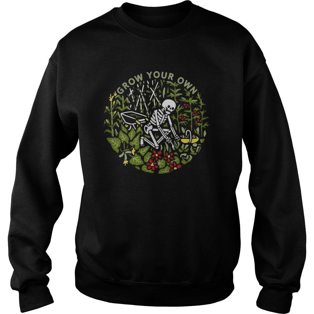 Skeleton Grow Your Own Sweater