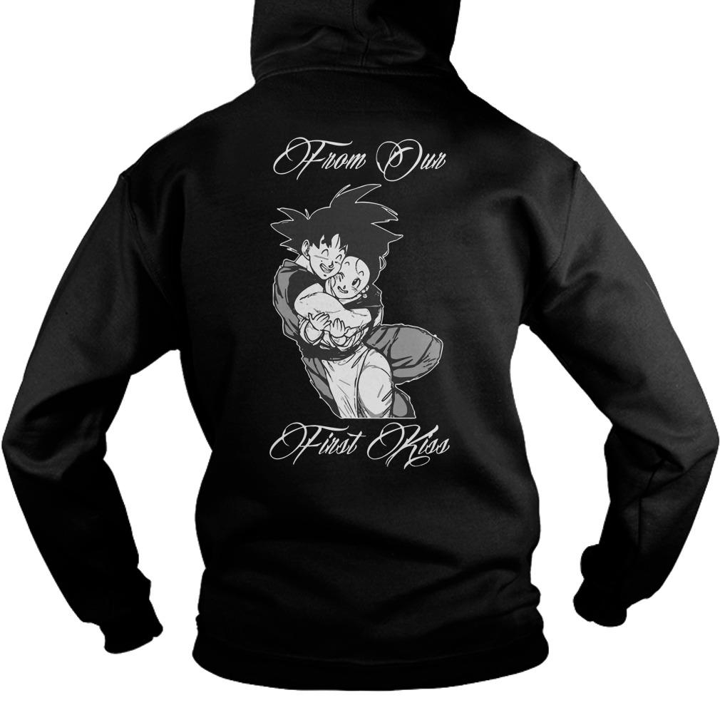 Son Goku And Chichi From Our First Kiss Hoodie