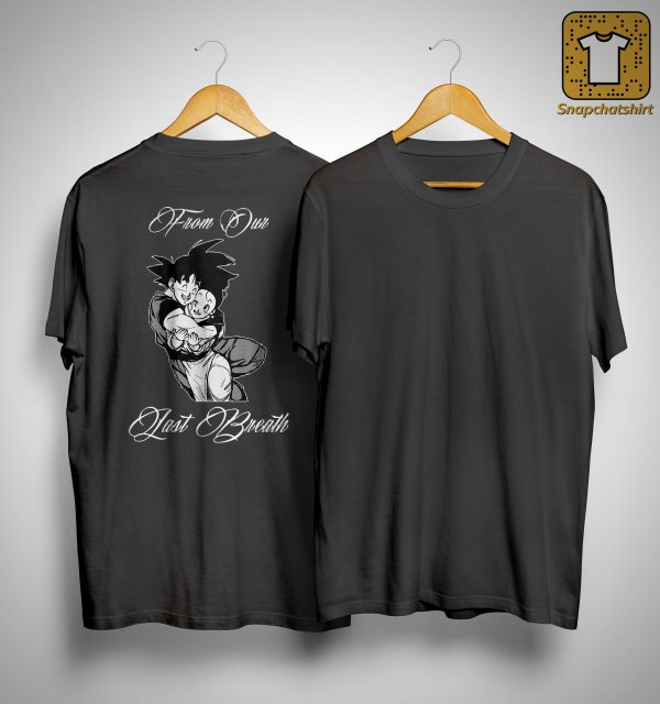Son Goku And Chichi Till Our Last Breath Shirt