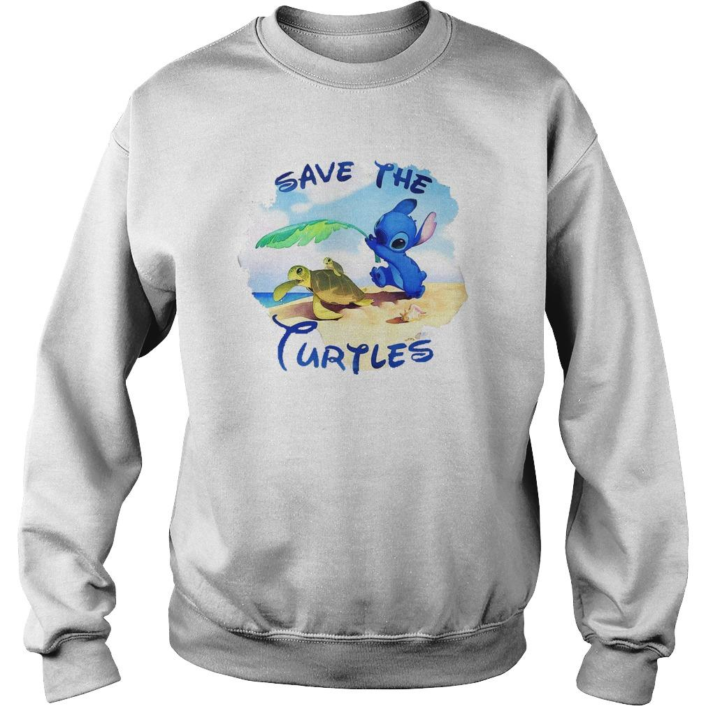 Stitch Save The Turtles Sweater