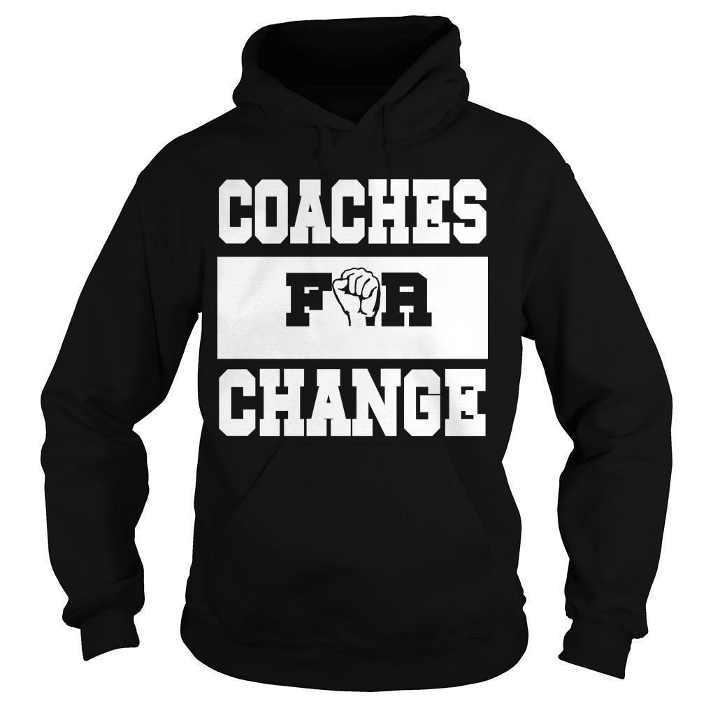 Strong Hand Coaches For Change Hoodie