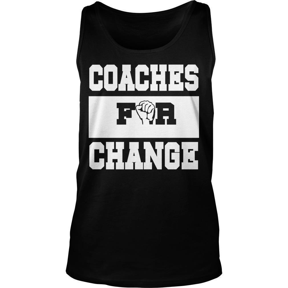 Strong Hand Coaches For Change Tank Top