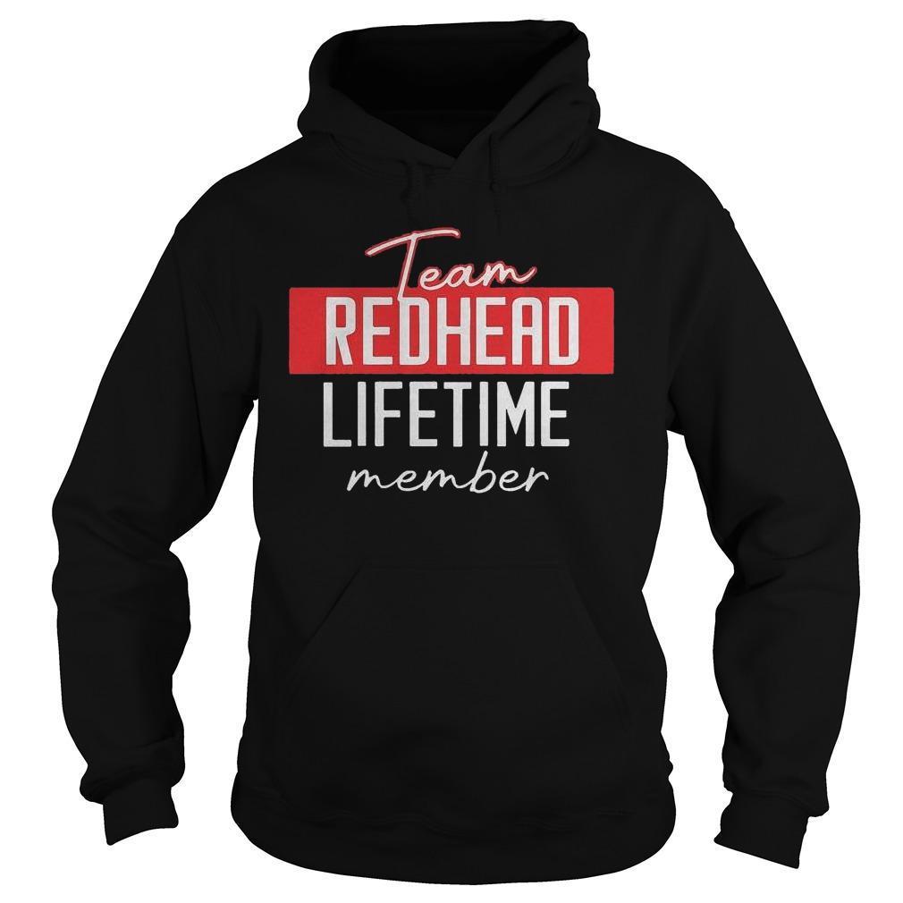 Team Redhead Lifetime Member Hoodie