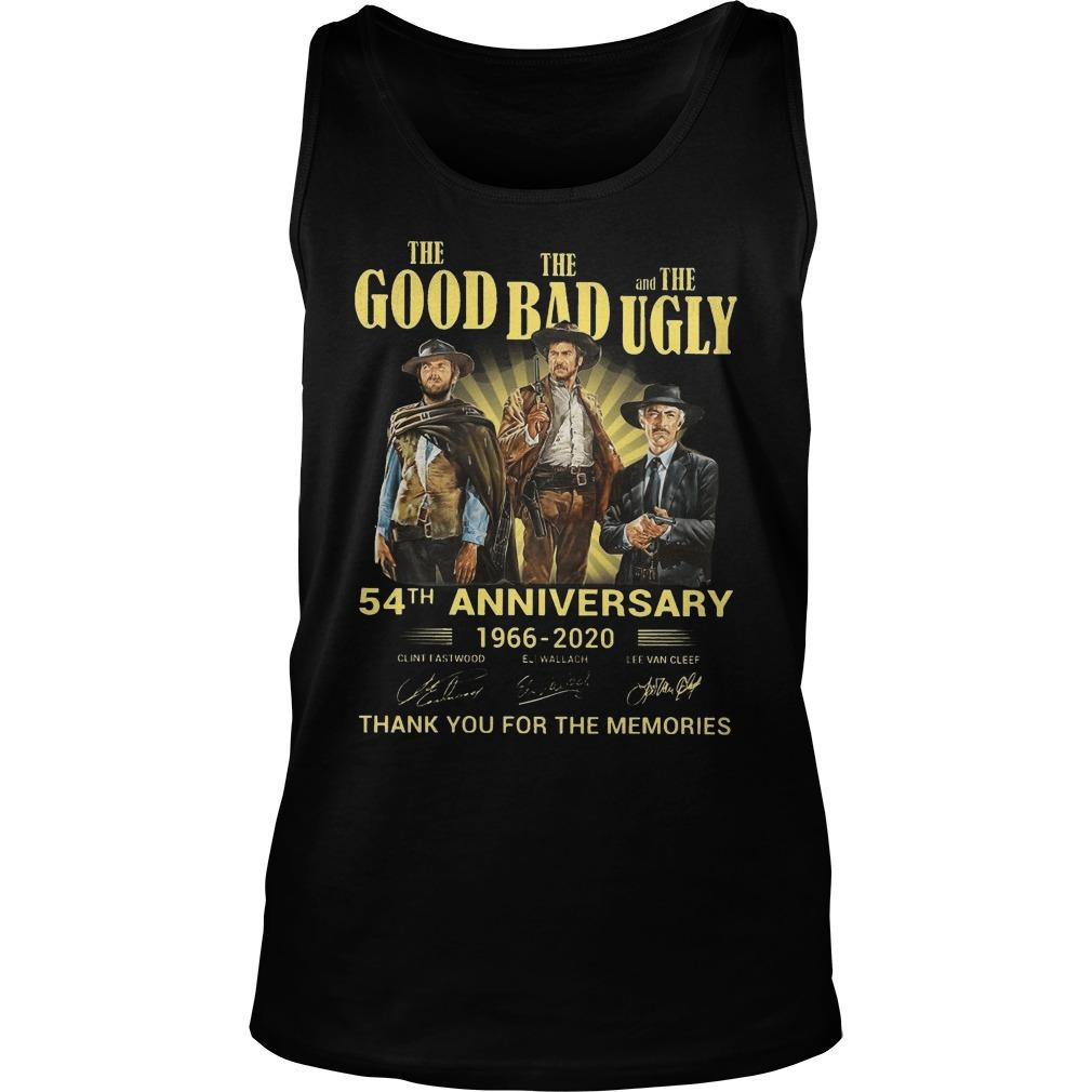 The Good The Bad And The Ugly 54th Anniversary Tank Top