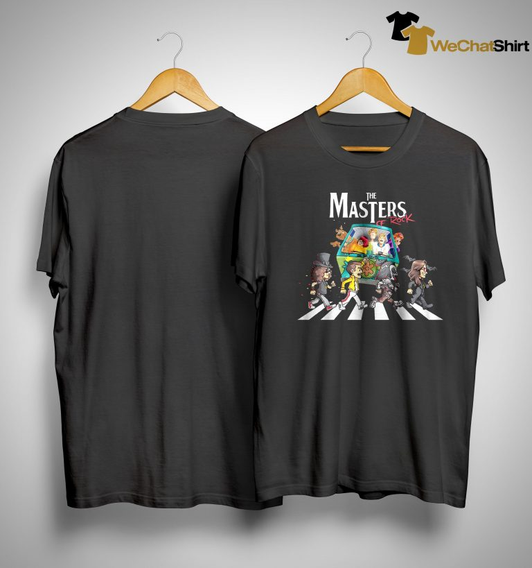 The Masters Of Rock Abbey Road Walking Shirt