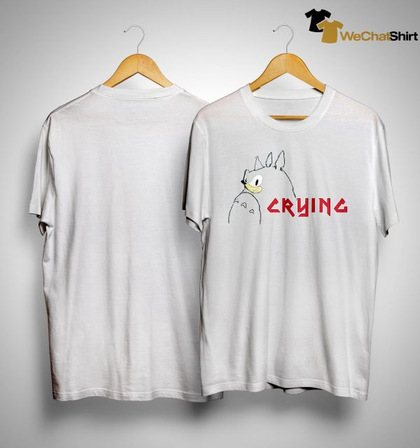 Totoro Sonic Crying Shirt