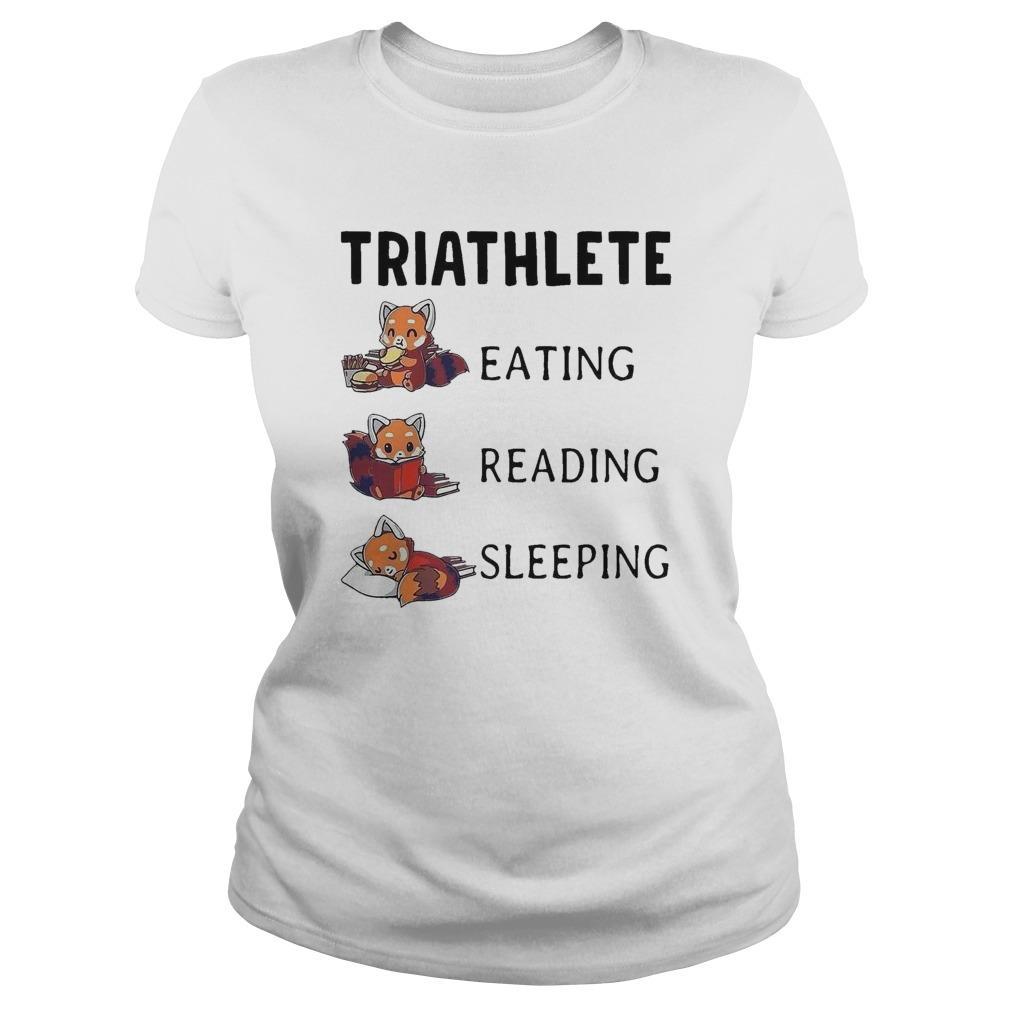 Triathlete Eating Reading Sleeping Longsleeve