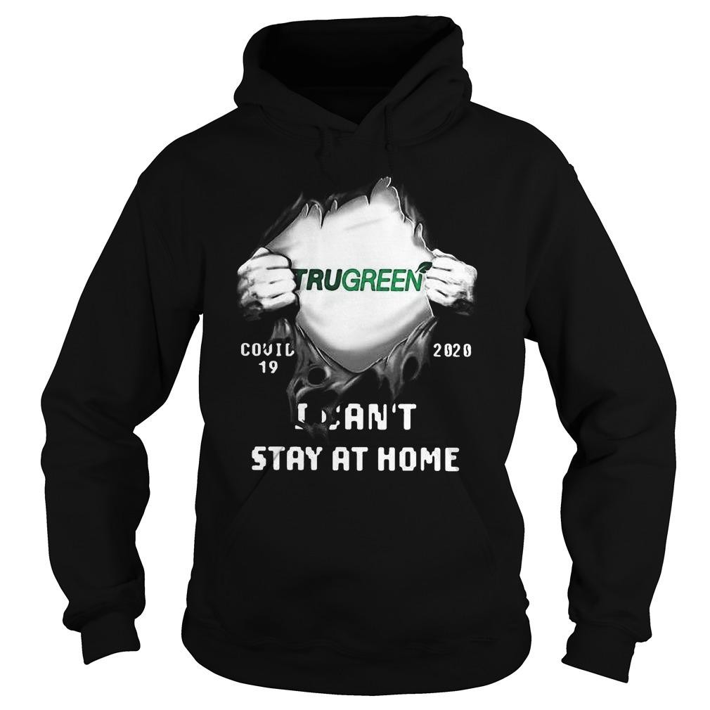 Trugreen Inside Me Covid 19 2020 I Can't Stay At Home Hoodie