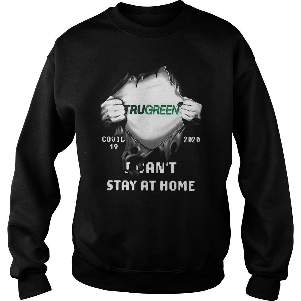 Trugreen Inside Me Covid 19 2020 I Can't Stay At Home Sweater