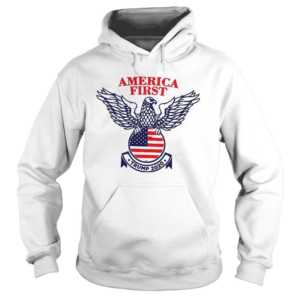 Trump Campaign America First Hoodie