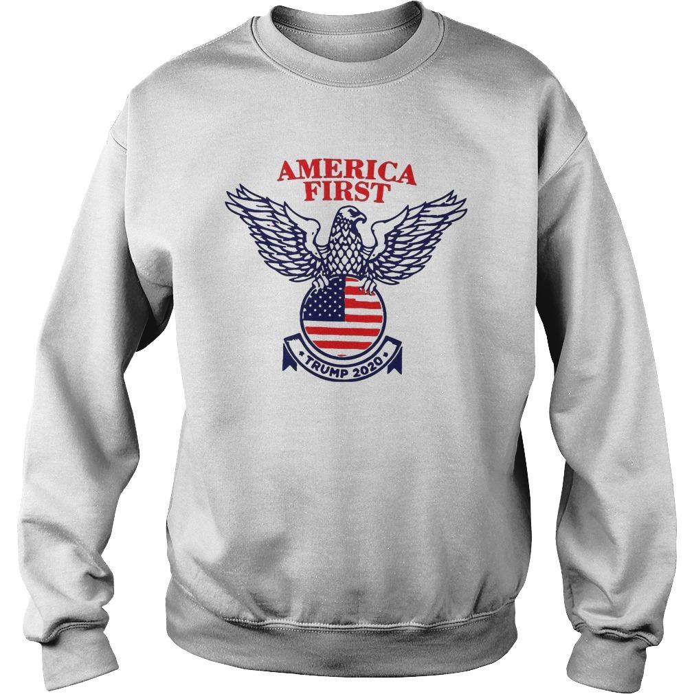 Trump Campaign America First Sweater