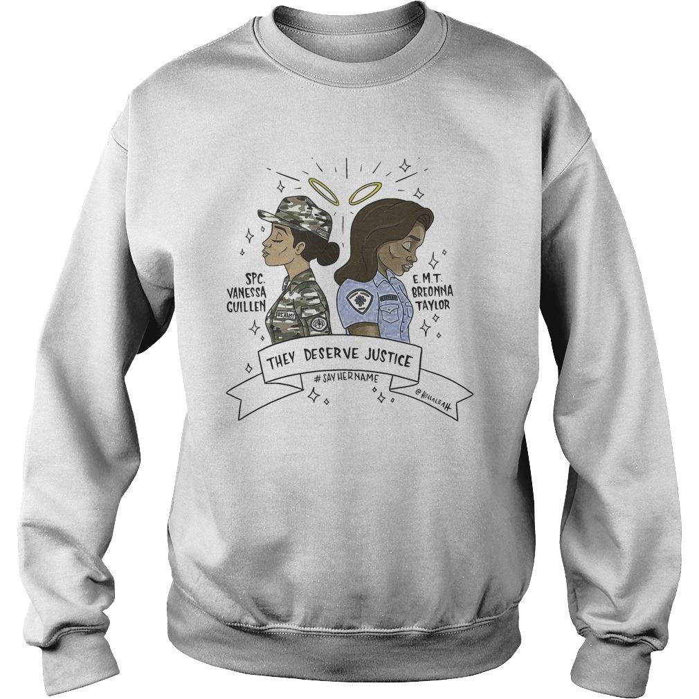 Vanessa Guillen Breonna Taylor They Deserve Justice Sweater