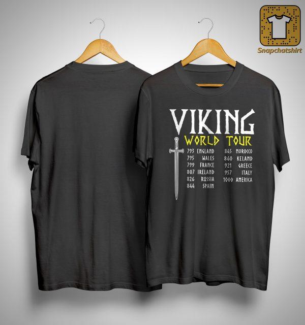 Viking World Tour 793 England 795 Wales 799 France Shirt