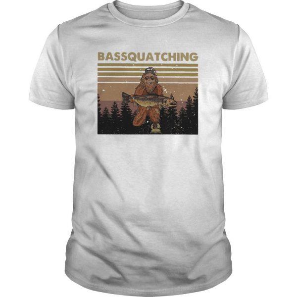 Vintage Bigfoot Bassquatching Shirt