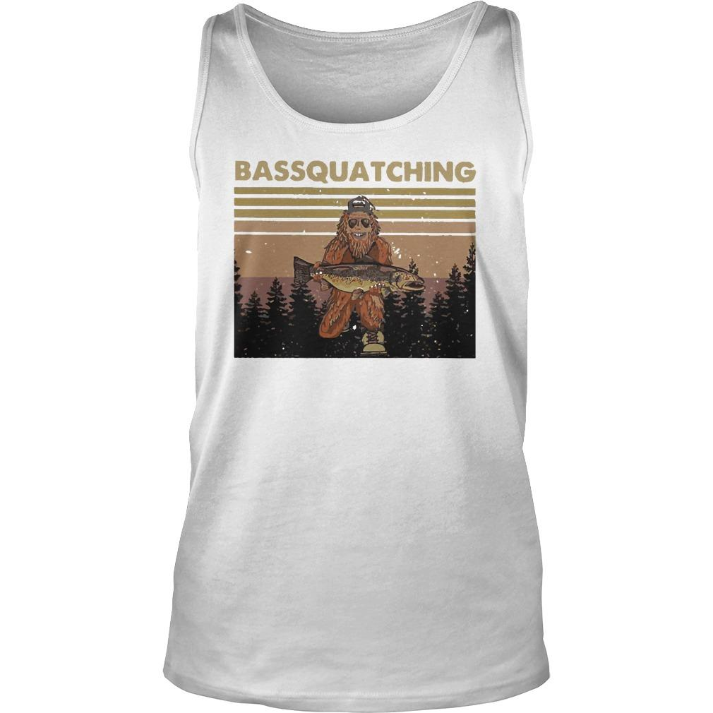 Vintage Bigfoot Bassquatching Tank Top
