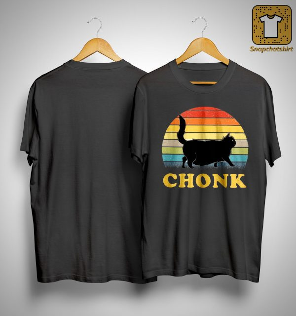 Vintage Black Cat Chonk Shirt