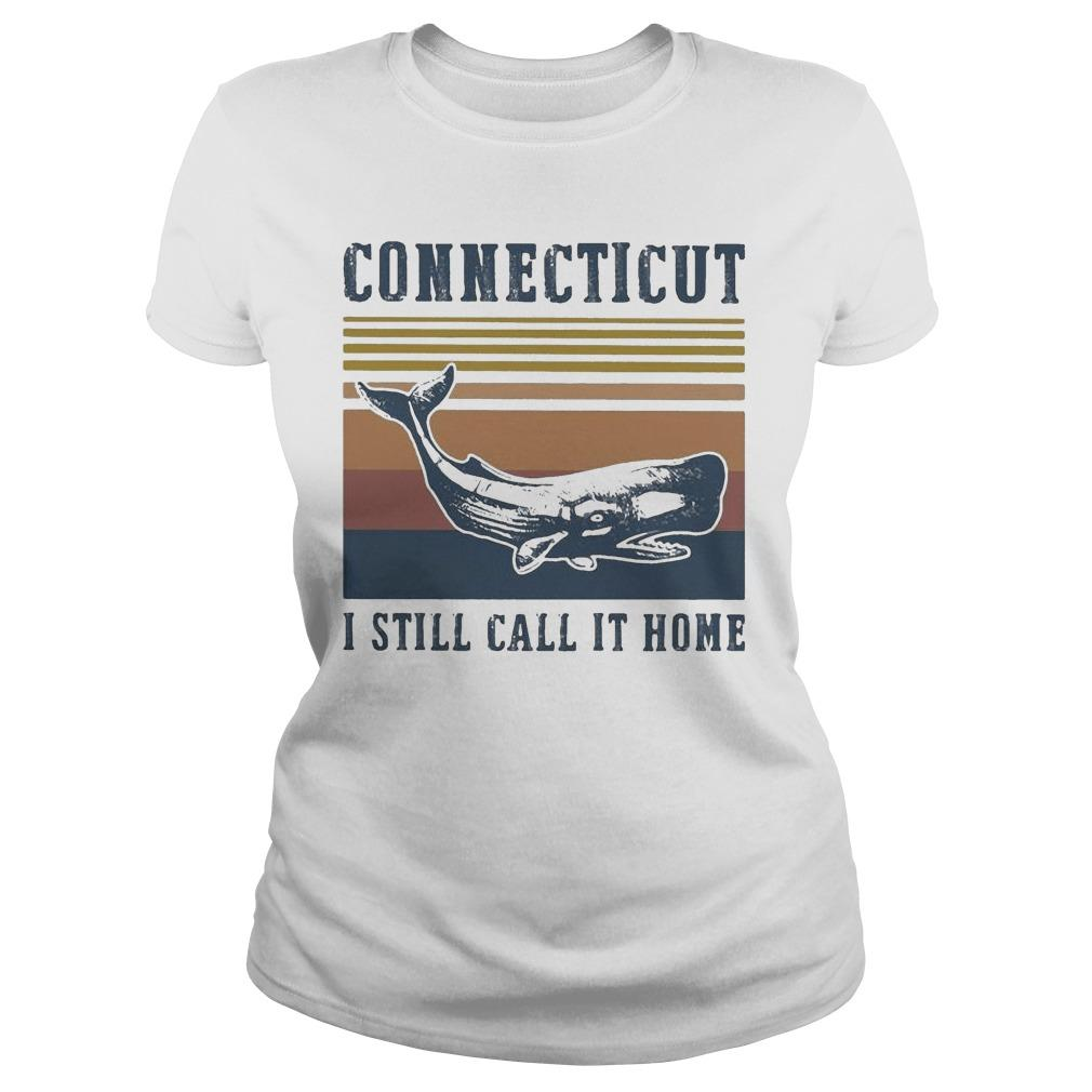 Vintage Connecticut I Still Call It Home Longsleeve