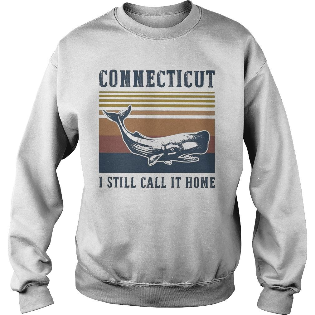 Vintage Connecticut I Still Call It Home Sweater