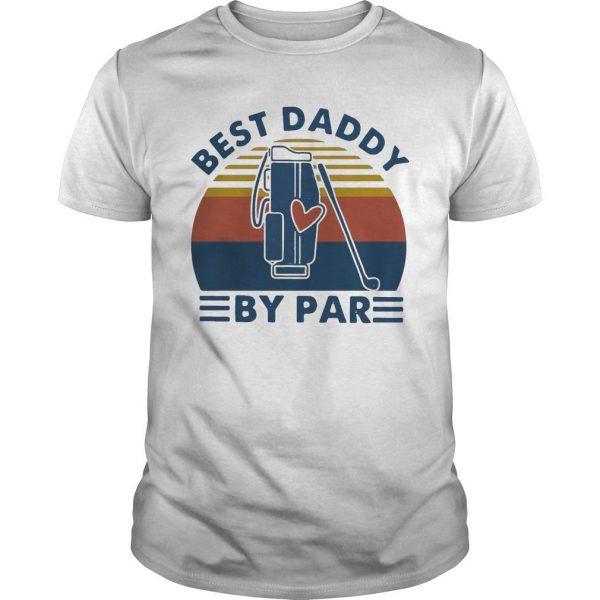 Vintage Golf Best Daddy By Par Shirt