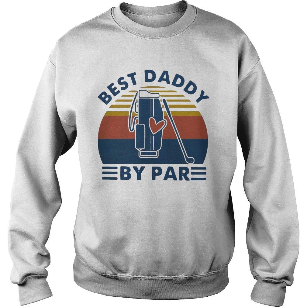 Vintage Golf Best Daddy By Par Sweater