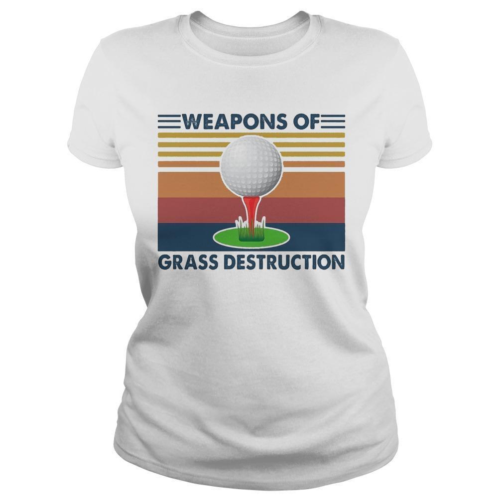 Vintage Golf Weapons Of Grass Destruction Longsleeve