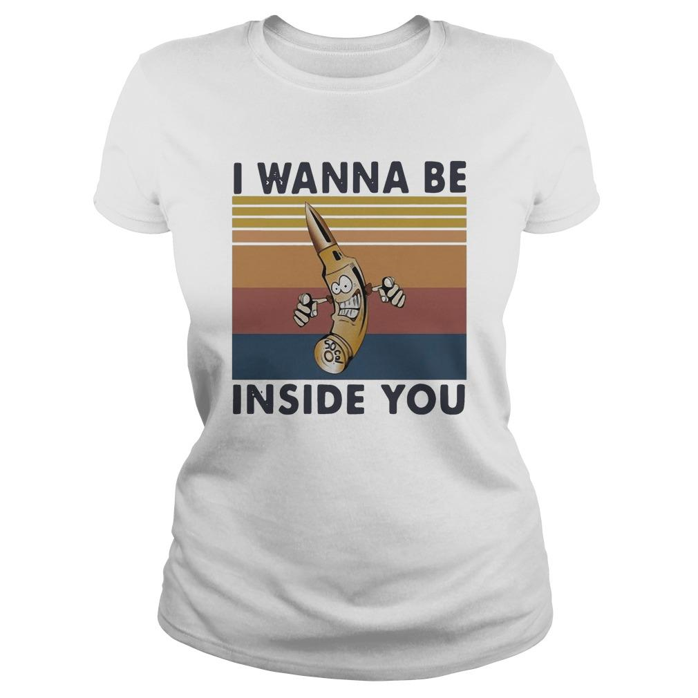 Vintage I Wanna Be Inside You Longsleeve