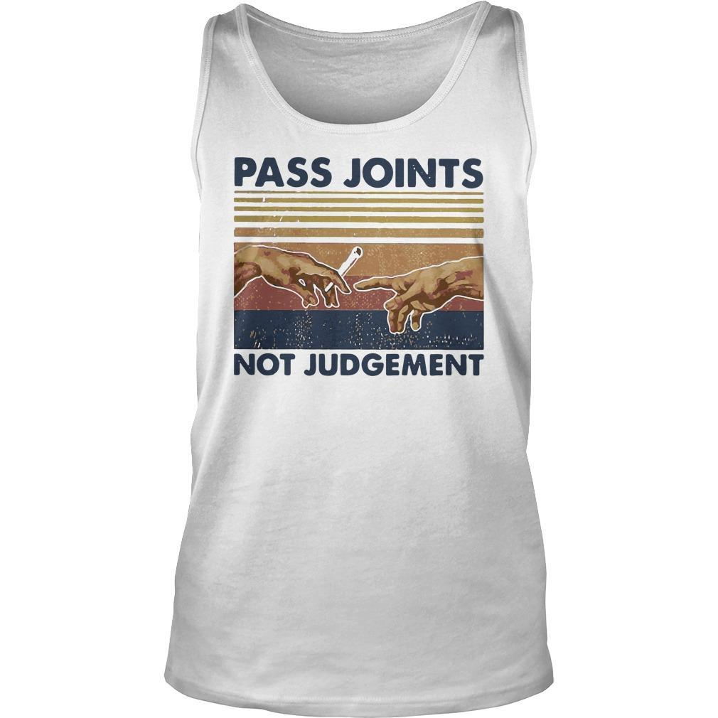 Vintage Weed Pass Joints Not Judgement Tank Top