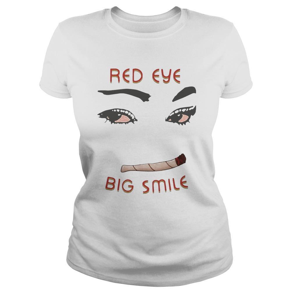 Weed Red Eye Big Smile Hoodie