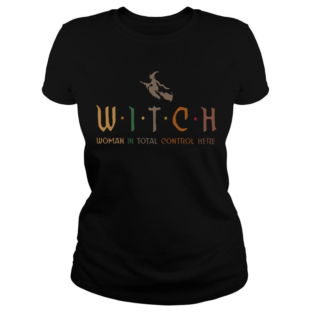 Witch Woman In Total Control Here Longsleeve