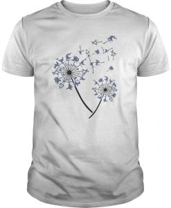 Yoga Shark Dandelion Shirt