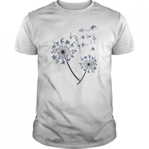 Yoga Shark Dandelion Shirt