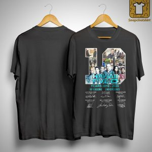 10 Years Hawaii Five 0 10 Seasons 240 Episodes Shirt