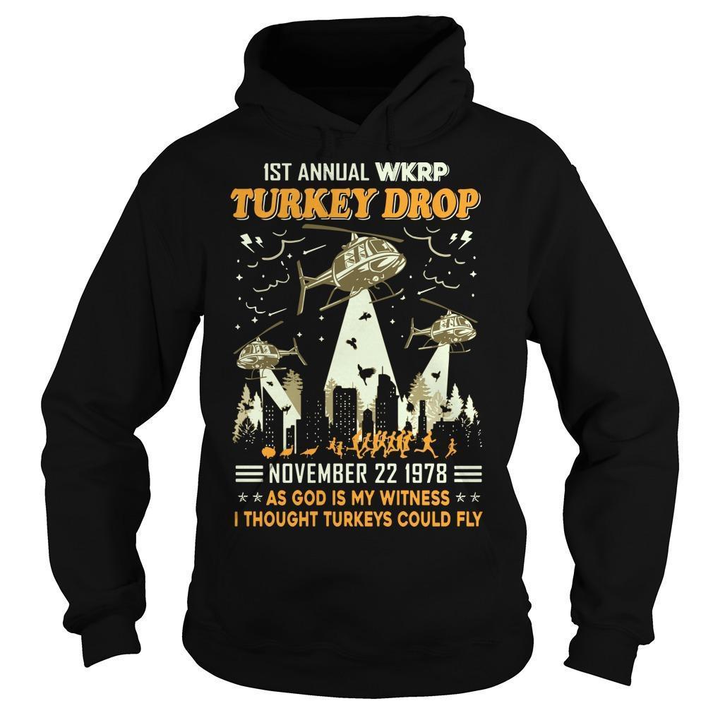 1st Annual Wkrp Turkey Drop November 22 1978 Hoodie
