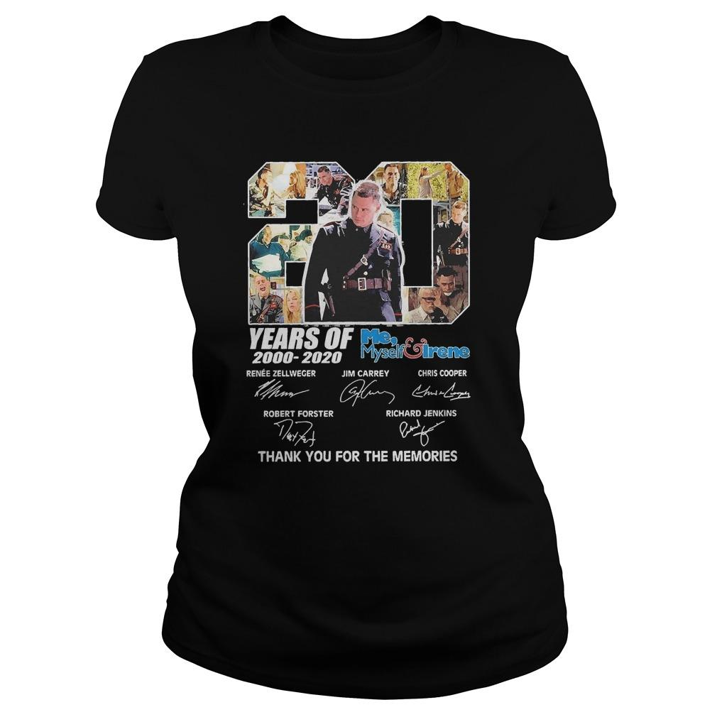 20 Years Of Me Myself Irene 2000 2020 Thank You For The Memories Longsleeve