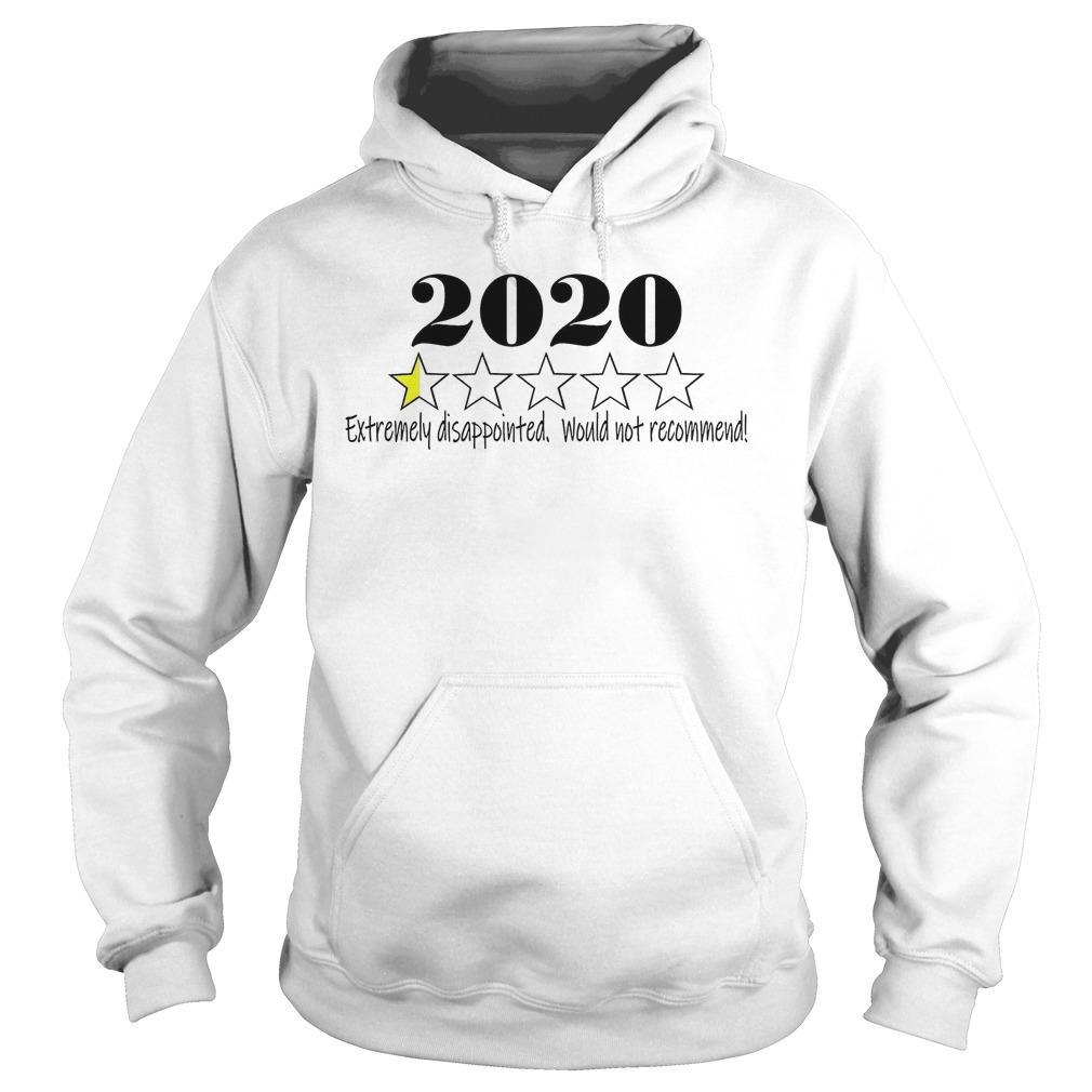 2020 Extremely Disappointed Would Not Recommend Hoodie