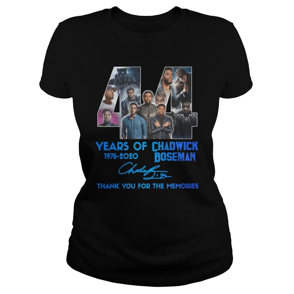 44 Years Of Chadwick Boseman Thank You For The Memories Longsleeve