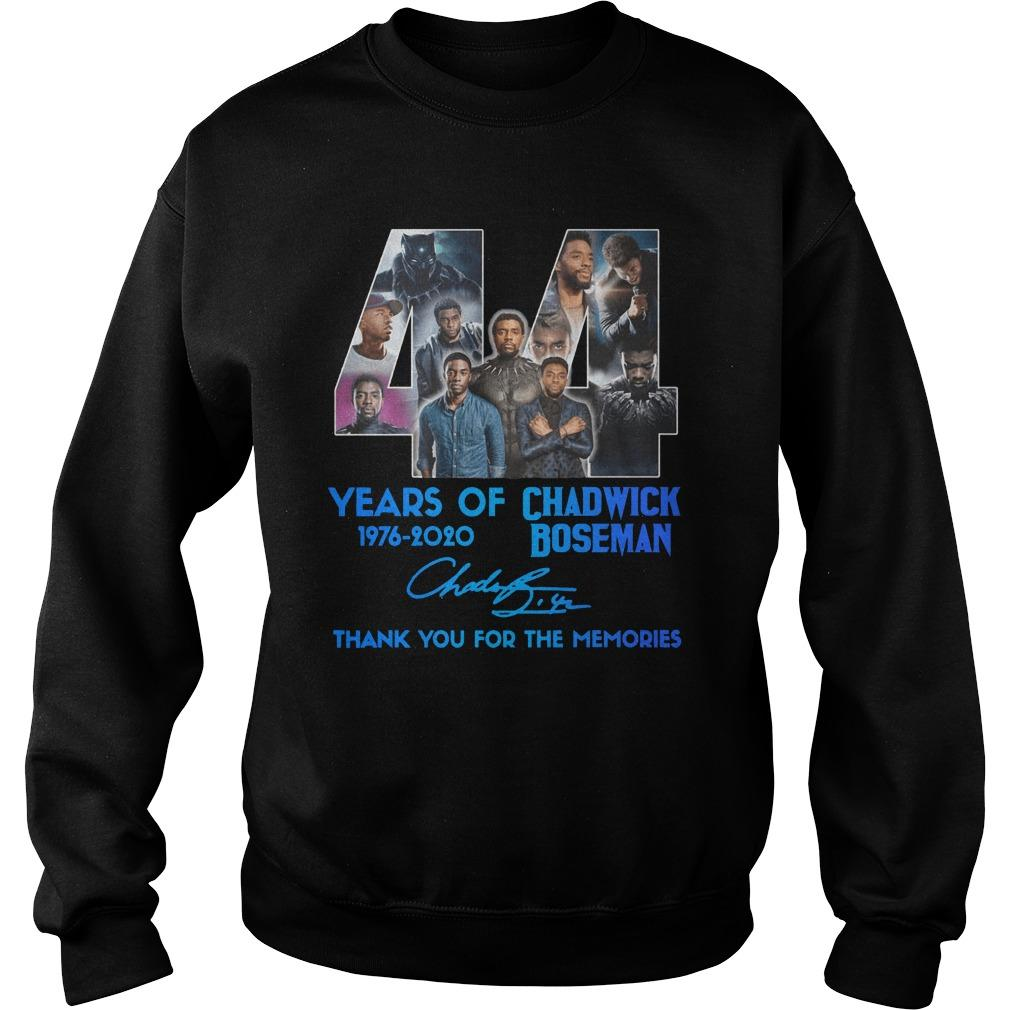 44 Years Of Chadwick Boseman Thank You For The Memories Sweater