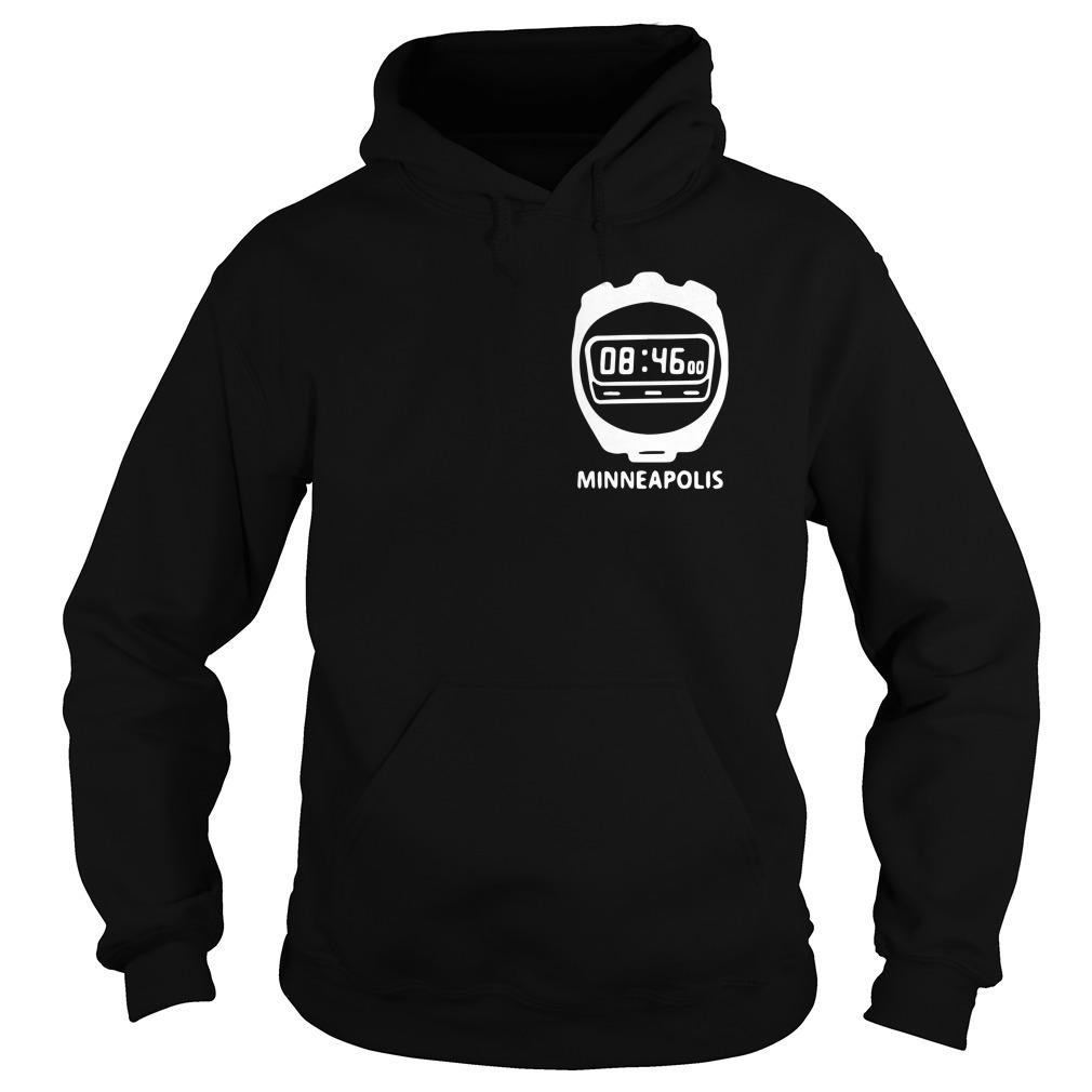 8 Minutes And 46 Seconds Minneapolis Hoodie