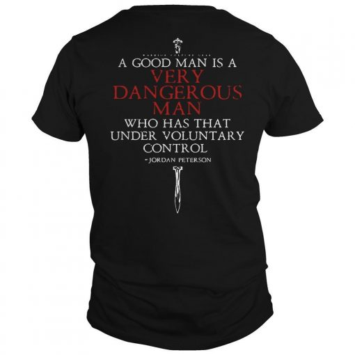 A Harmless Man Is Not A Good Man Shirt