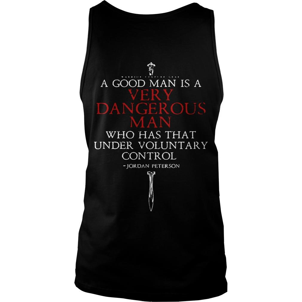 A Harmless Man Is Not A Good Man Tank Top