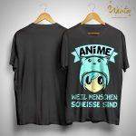 Anime Weil Menschen Scheisse Sind Shirt