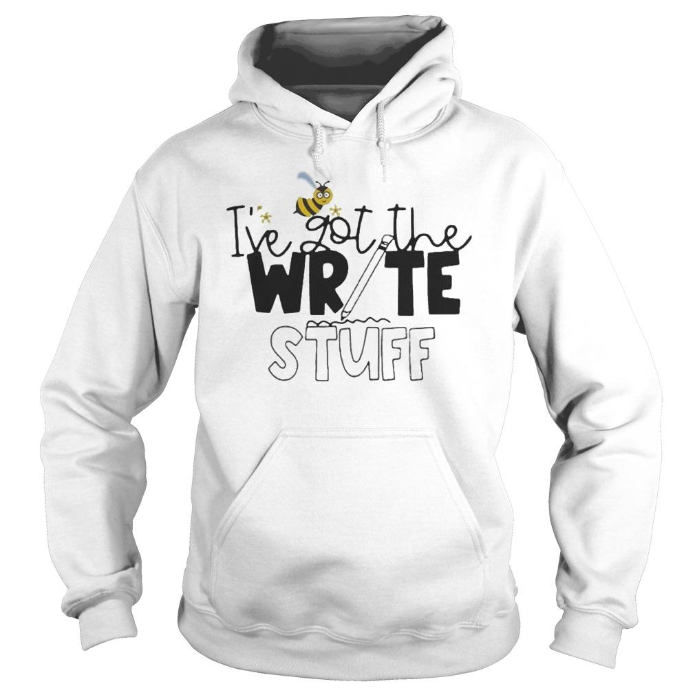 Bee I've Got The Write Stuff Hoodie