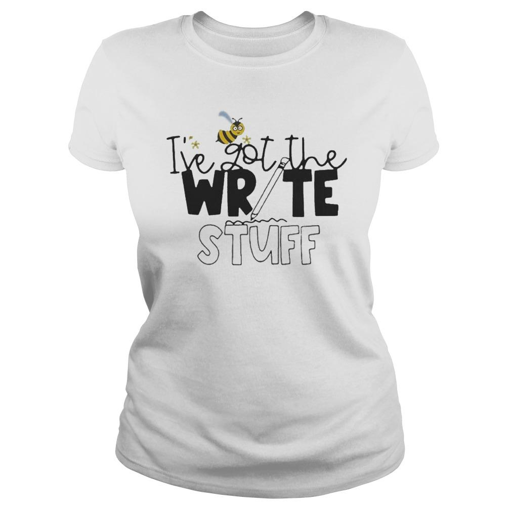 Bee I've Got The Write Stuff Longsleeve