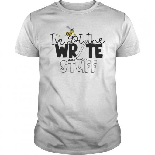 Bee I've Got The Write Stuff Shirt