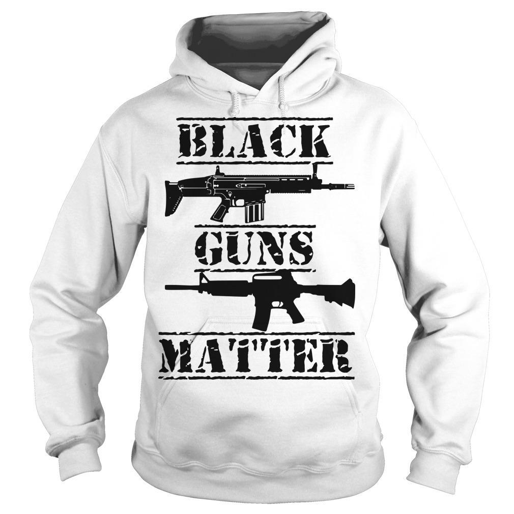 Black Guns Matter Hoodie