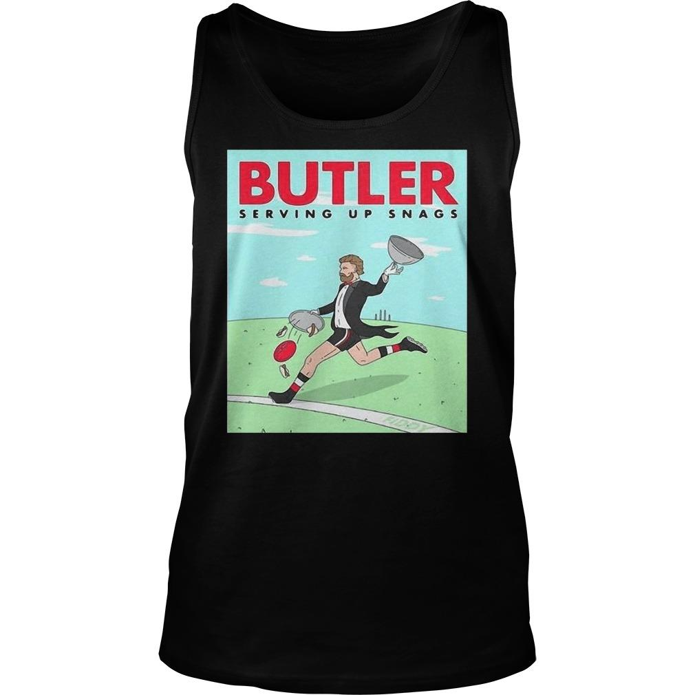 Butler Serving Up Snags Tank Top